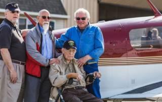 Clyde Jordan hospice flight